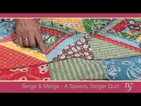 Serge & Merge  -  A Speedy Serger Quilt