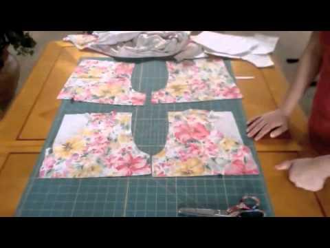 Spring or Summer Romper Sewing Tutorial