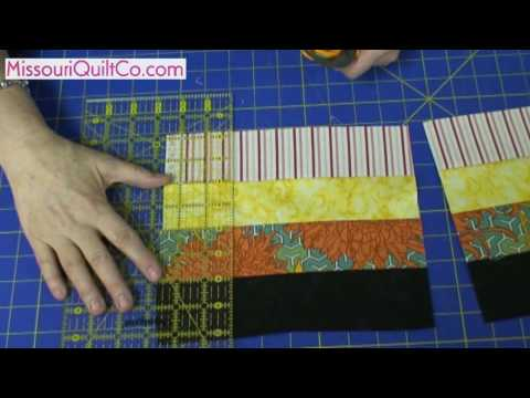 Fence Rail Quilting Block - Beginner Block Quilting Series