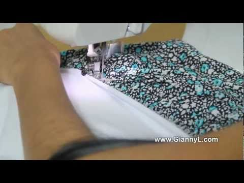 How to Sew a Layered Tube Dress for Spring and Summer