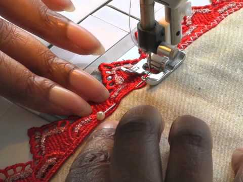 Sewing Lace Edging