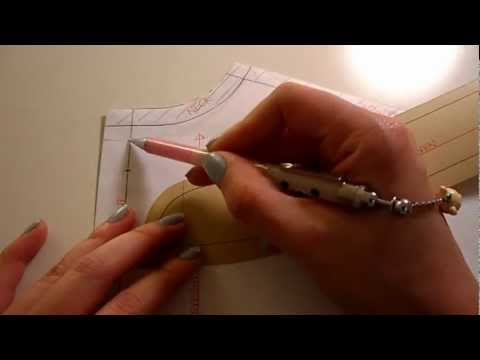Pattern Cutting Tutorial: How To Lower Necklines