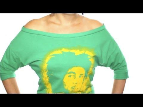 """How to Sew a """"Dolman Tee"""" Shirt From a Regular T-Shirt"""