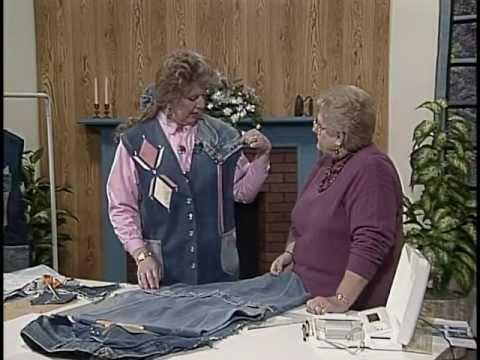 Junk Jeans Shirt Tail Vest Technique