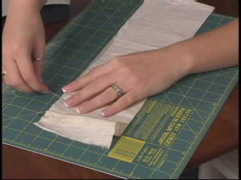 How to Sew Box Pleats