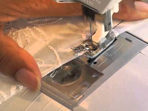 How to Sew Darts into Lace Fabric