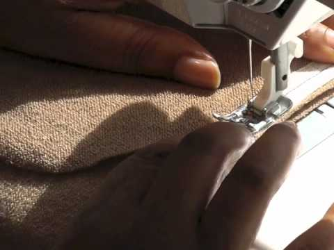 Stay Taping Inseam Pockets - Sewing Tutorial