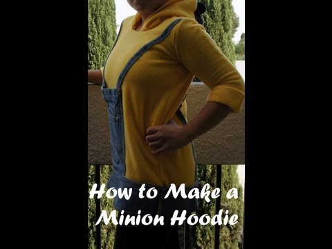 How to Sew a Minion Hoodie