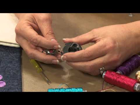 How to Adjust Machine Tension for Bobbin Work