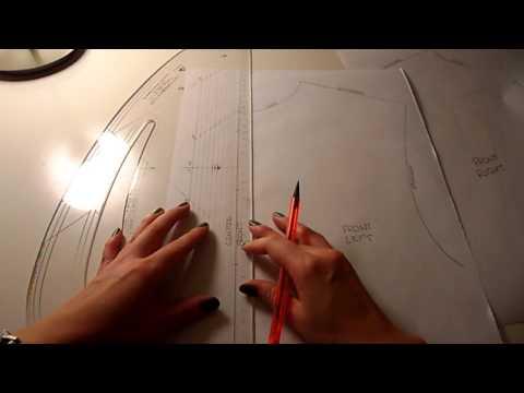 Pattern Cutting Tutorial: How To Draft A Basic Shirt Placket