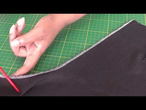 How to Serge Front and Back Pant Seams Correctly