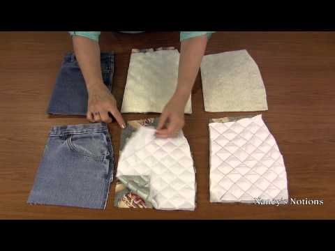Four Simple Steps to Sew Denim Pot Holders or Mitts with Pockets