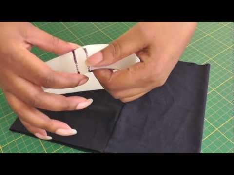 Sewing an Elastic Waistband with No Casing