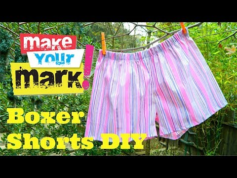 How to Sew Boxer Shorts - Easy!