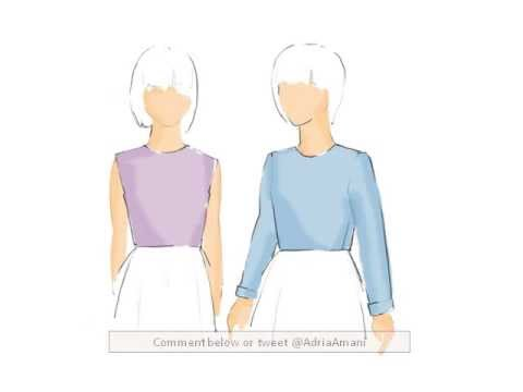 Children's Clothing Basic Bodice and Sleeve Patterning