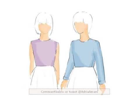 Children's Clothing Basic Bodice and Sleeve Patterning