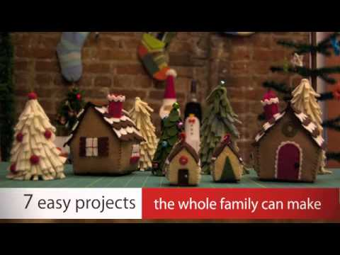 Fab Felt Holiday Crafts with Betz White