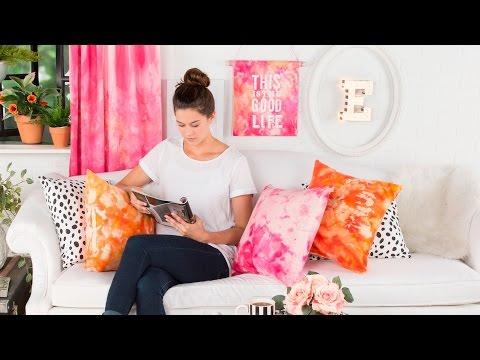 "How to Create Beautiful ""Ice"" Tie-Dyed Fabrics"