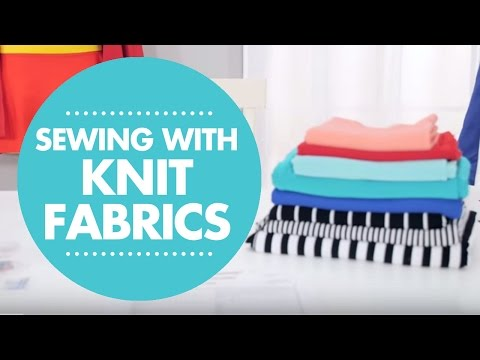 How to Sew Knit Fabrics from Simplicity Video