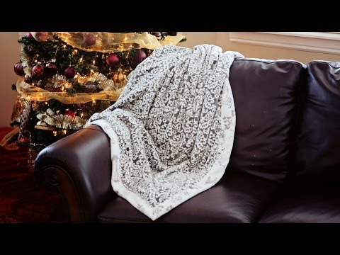 How to Sew a Self-Binding Blanket - Sewing with Fleece