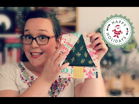 Paper-Pieced Christmas Trees - Free Tutorial and PDF Pattern from Amanda Rolfe
