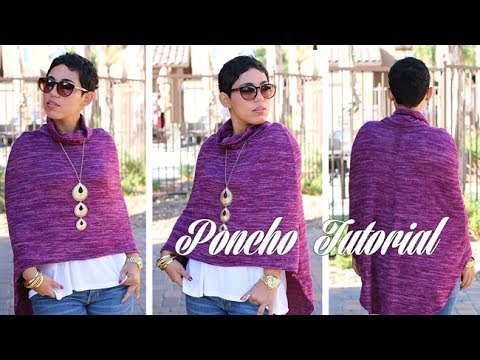 Sew a High-Low Poncho with Mimi G for Michael Levine