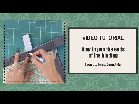 How to Join the Binding Ends on a Quilt