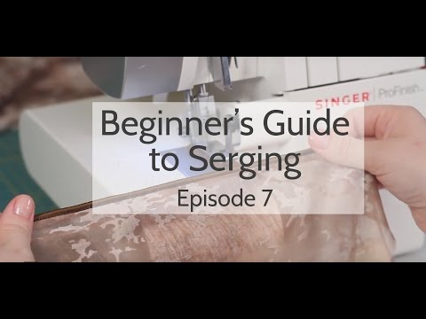 Beginner's Guide to Serging (Ep. 7): Rolled Edge