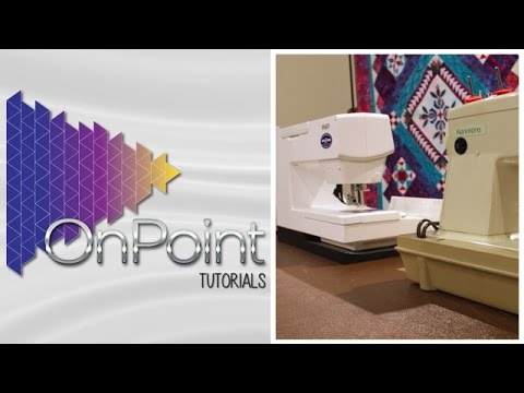 A Review of Machines for Machine Quilting - OnPoint