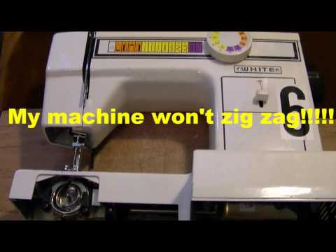 Sewing Machine Repair - Set The Timing On Your Sewing Machine