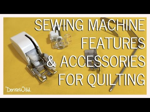 What To Look For In A Quilting Machine