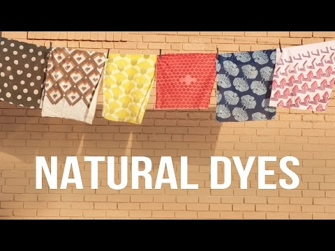 Mesmerizing Natural Fabric Dyes