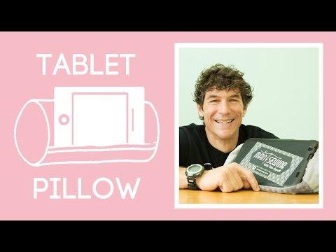Sew a Tablet Prop-Up Pillow