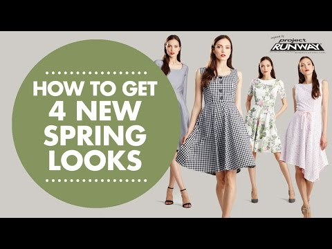 Get Four New Spring Looks with Simplicity 8048