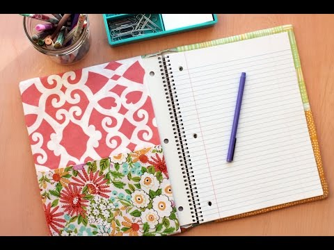 How to Sew a Notebook Cover