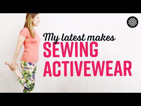 Sewing Athletic Garments with The Last Stitch