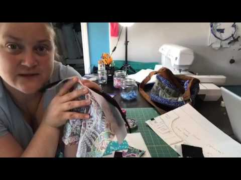 The Snazzy Slouch Bag Sew Along with Amanda