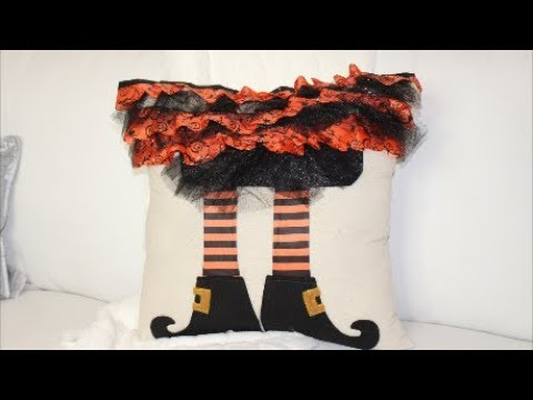Dollar Tree DIY  Halloween Pillow Hack