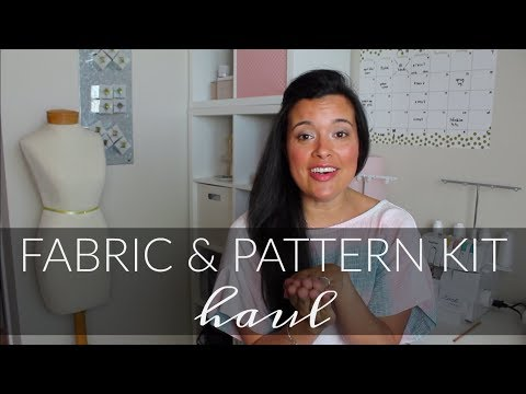 Fabric Mart Fabrics Pattern & Fabric Kit Haul