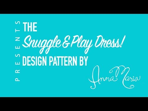 Anna Maria Horner + Janome - Snuggle & Play Dress