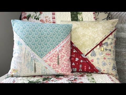 How to Sew a Cross Pocket Pillow