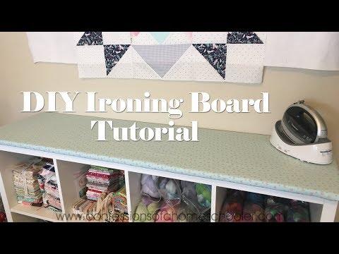 Easy DIY Ironing Board Tutorial