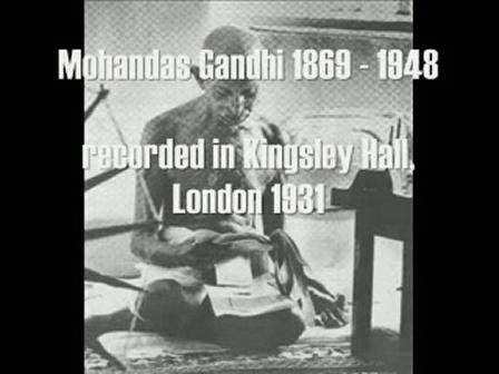 Mahatma Gandhi - God Is (Spiritual Message) (London 1931)