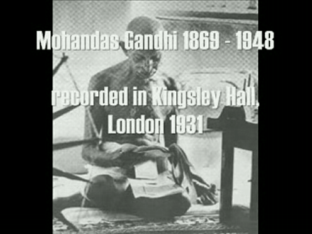 Mahatma Gandhi - God Is (Spiritual Message) (London 1931)