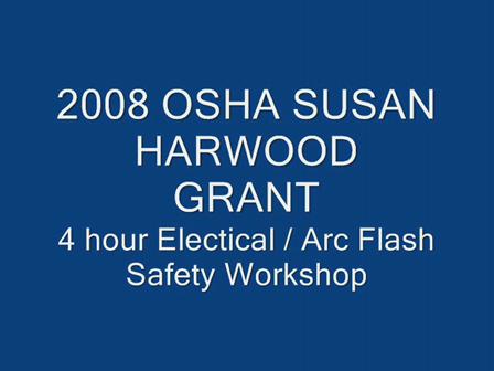 2008 Susan Harwood Grant Workshops