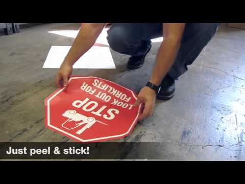 Floor Signs - Get Custom Signs from the manufacturer