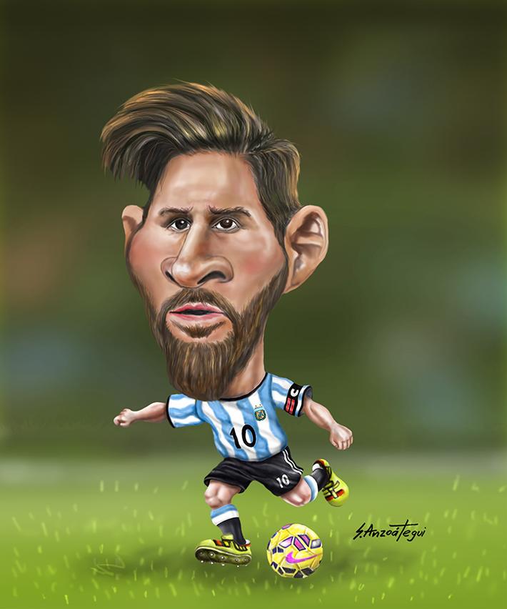 Messi's Cartoon 2