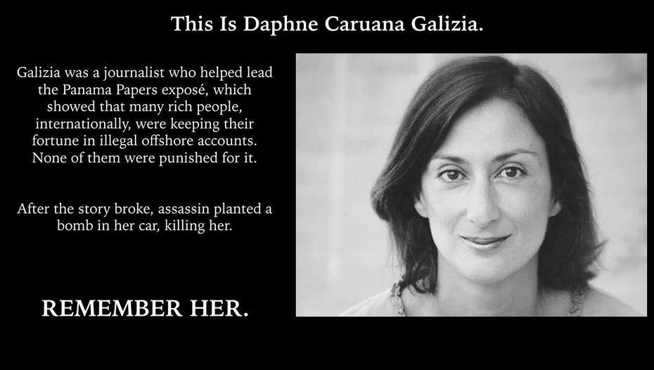 This is Daphne Galizia