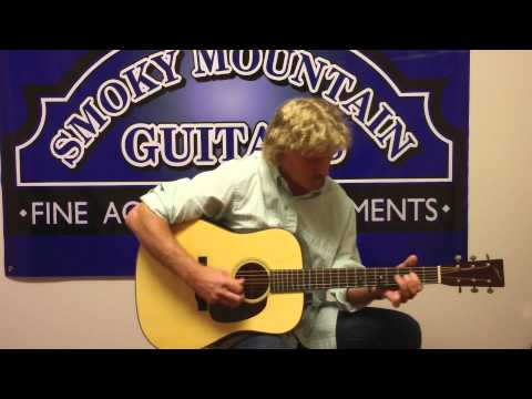 Richard Bennett Plays Tennessee Waltz on an Altman Guitar