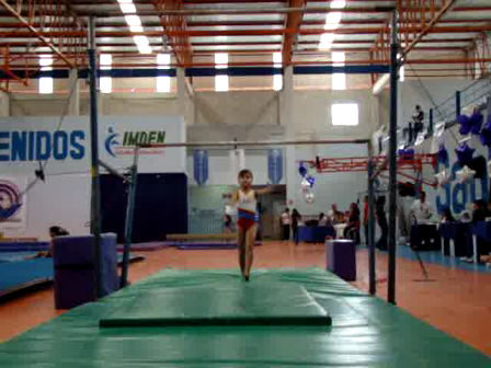RUTINA DE BARRAS ASIMETRICAS NIVEL 2 COPA ELTA 2011